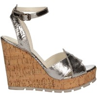 Zapatos Mujer Sandalias Apepazza FRT47 Wedge sandals Mujeres Silver Silver