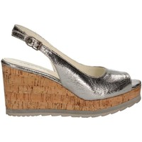 Zapatos Mujer Sandalias Apepazza LCK03 Wedge sandals Mujeres Silver Silver