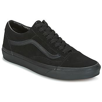 Zapatos Zapatillas bajas Vans UA Old Skool Ante / Negro / Negro / Negro