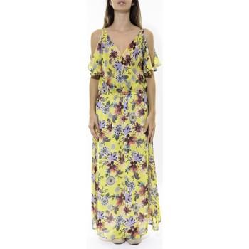 textil Mujer Vestidos largos Jad Robe Zaba Jaune Amarillo