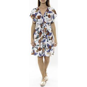 textil Mujer Vestidos cortos Jad Robe Grenadine Blanche Blanco