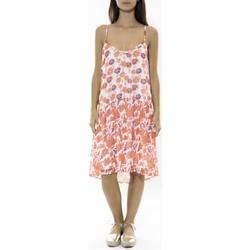 textil Mujer Vestidos cortos Jad Robe Zeus Orange Naranja