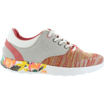 Zapatos Niña Zapatillas bajas Pepe jeans PGS30291 AMANDA Naranja