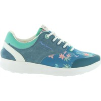 Zapatos Niña Zapatillas bajas Pepe jeans PGS30292 AMANDA Azul
