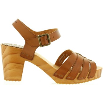 Zapatos Mujer Sandalias Pepe jeans PLS90255 OLY Marr?n