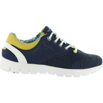 Zapatos Niños Zapatillas bajas Pepe jeans PBS30272 COVEN Azul