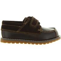 Zapatos Niños Zapatos náuticos Timberland A1JUT POKEY Marr?n