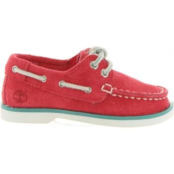 Zapatos Niños Zapatos náuticos Timberland A1L5V SEABURY Rojo