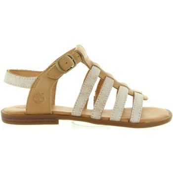 Zapatos Niña Sandalias Timberland A1G1Q GIRLS Beige