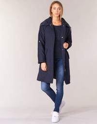 textil Mujer trench Armani jeans MERCHA Marino