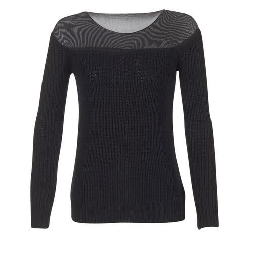Lamoc Textil Jeans Armani Negro Jerséis Mujer gbfvIyY76
