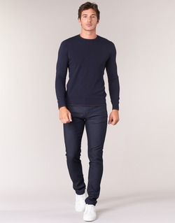 textil Hombre pantalones con 5 bolsillos Armani jeans GOURNA Azul
