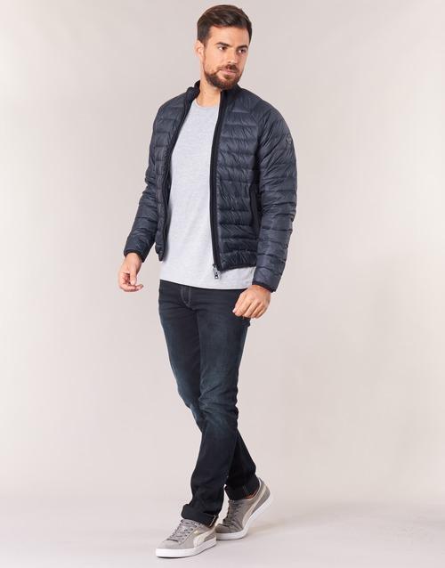 Jeans Textil Negro Jillu Armani Hombre Plumas tQxsrdCh