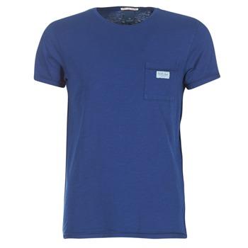 textil Hombre camisetas manga corta Scotch & Soda JURISCU Marino