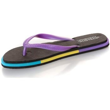 Zapatos Mujer Chanclas Mora Mora Tong Rumba  Black Negro