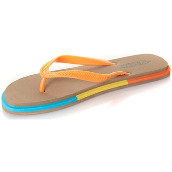 Zapatos Mujer Chanclas Mora Mora Tong Rumba Beige Beige