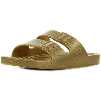 Zapatos Mujer Sandalias Moses Freedom slippers Oro