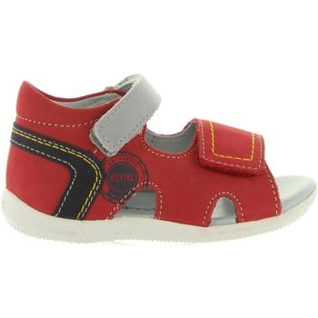 Zapatos Niños Sandalias Kickers 545080-10 BICUBASURF Rojo