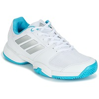 Zapatos Running / trail adidas Performance Barricade Club xJ Blanco / Azul