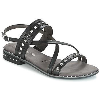 Zapatos Mujer Sandalias Tamaris  Negro