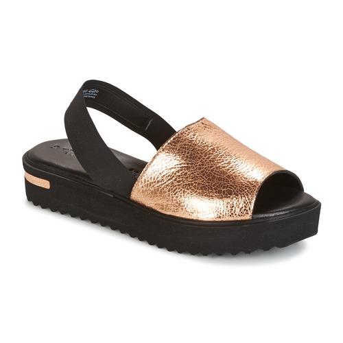 Zapatos Mujer Sandalias Tamaris  Negro / Oro
