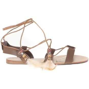 Zapatos Mujer Sandalias Vera & Lucy Sandale  Taupe attache corde SP7085-TP Marrón