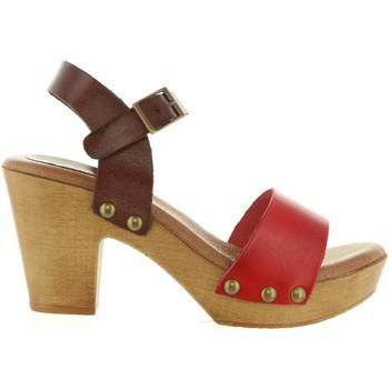 Zapatos Mujer Sandalias Cumbia 30551 Rojo