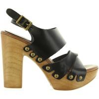 Zapatos Mujer Sandalias Cumbia 30543 Negro