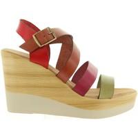 Zapatos Mujer Sandalias Cumbia 30588 Rojo