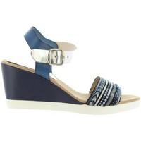 Zapatos Mujer Sandalias Cumbia 30169 Azul