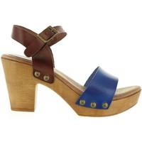 Zapatos Mujer Sandalias Cumbia 30551 Azul