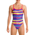 textil Niña Bañador Funkita Single Strap Girls Multicolor