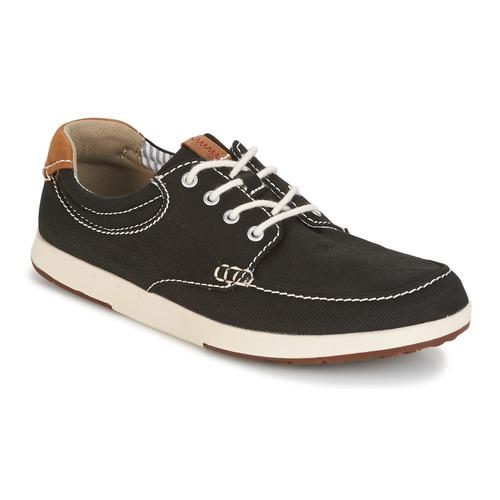 Zapatos Hombre Zapatillas bajas Clarks Norwin Vibe Negro