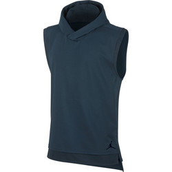 textil Hombre sudaderas Nike 23 Lux Hooded SL Top Azul