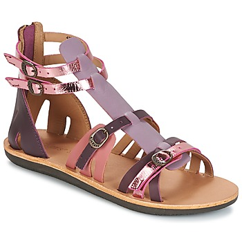 Zapatos Mujer Sandalias Kickers SPARTIATEN Violeta / Multiple