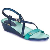 Zapatos Mujer Sandalias Kickers TASTE Marino / Azul / Laguna