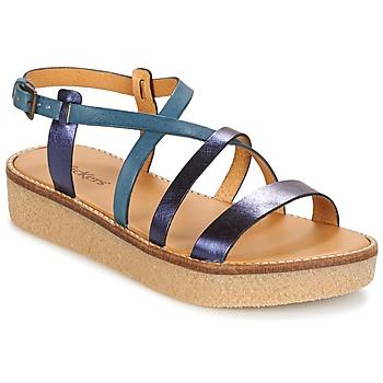 Zapatos Mujer Sandalias Kickers VALENTINA Azul