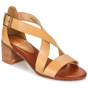 Zapatos Mujer Sandalias Kickers VOLTAX Beige