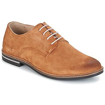 Zapatos Hombre Derbie Kickers ELDAN Camel