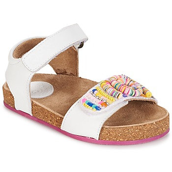 Zapatos Niña Sandalias Kickers NAISSA Blanco