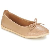 Zapatos Niña Bailarinas-manoletinas Kickers EDANA Beige
