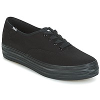 Zapatos Mujer Zapatillas bajas Keds TRIPLE Negro