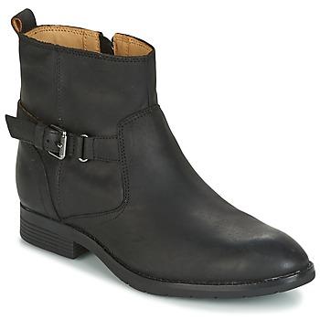 Zapatos Mujer Botas de caña baja Sebago NASHOBA LOW BOOT WP Negro