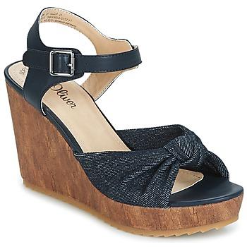 Zapatos Mujer Sandalias S.Oliver  Denim / Comb