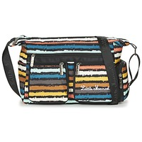 Bolsos Mujer Bandolera Little Marcel NANCY Negro / Multicolor