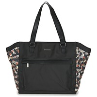Bolsos Mujer Bolso shopping Little Marcel NUR Negro / Multicolor