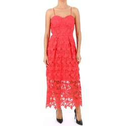 textil Mujer vestidos largos Kocca Vestido MATILI Naranja
