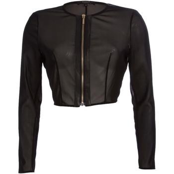 textil Mujer Chaquetas de punto Kocca Abrigo HOKET Negro