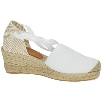 Zapatos Mujer Alpargatas Torres Valencianas blancas