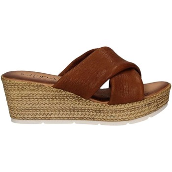 Zapatos Mujer Zuecos (Mules) Jeiday 1279-8396 Sandals Mujeres Brown Brown